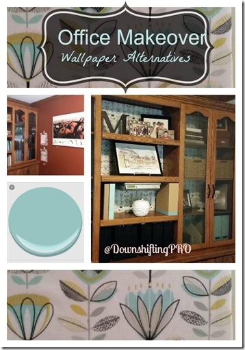 Office Makeover Wallpaper Alternatives @DownshiftingPRO
