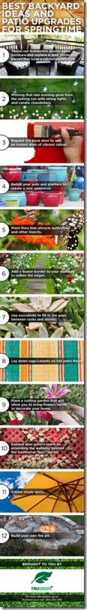 Best Patio Upgrades for Springtime from TruGreen and DownshiftingPRO