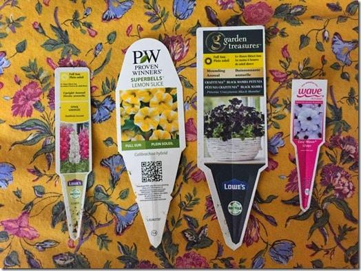 Tags-Summer Planters @DownshiftingPRO