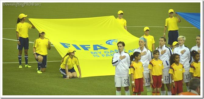 FIFA Women's World Cup Semi-Final Flagbearers_detail_RewardVolunteers_VolunteerSuperhero