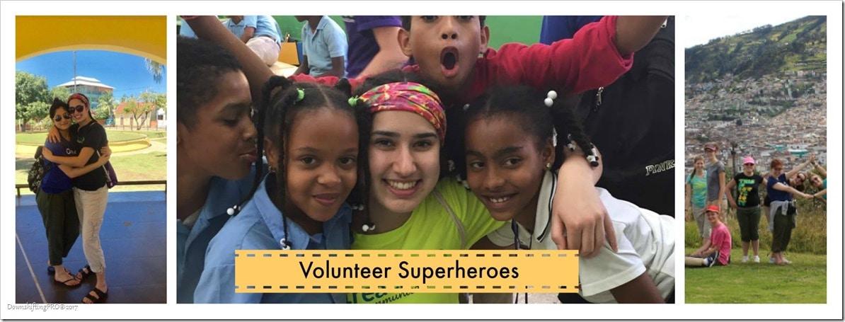 Volunteer Superheroes #RewardVolunteers