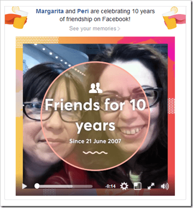 10 Years of Friendship on Facebook @DownshiftingPRO