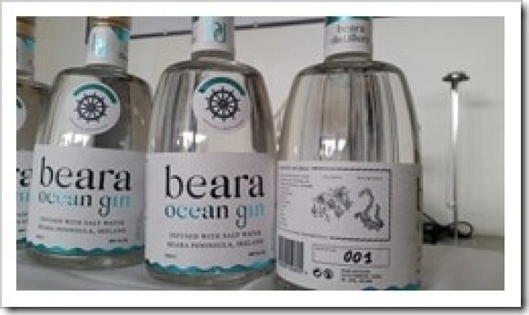 Beara Ocean Gin - Beara Peninsula - Hidden Ireland Tours TBEX  Ireland @DownshiftingPRO