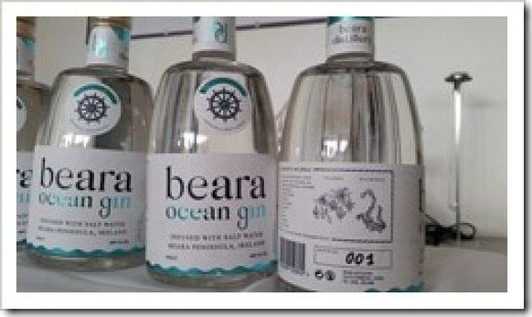 Beara Ocean Gin - Beara Peninsula - Hidden Ireland Tours TBEX  Ireland @DownshiftingPRO