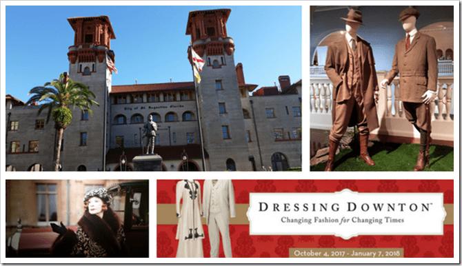 Dressing Downton at The Lightner Museum in St. Augustine Florida