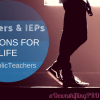 Teachers & IEPs – Lessons for Life for an Autism Spectrum Teen #CatholicTeachers #ad