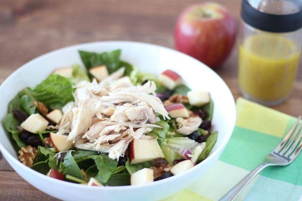 Apple chicken salad