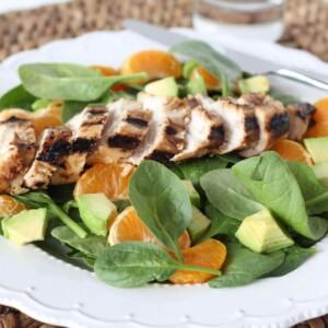 Mandarin and Lemon Chicken Salad | www.downshiftology.com