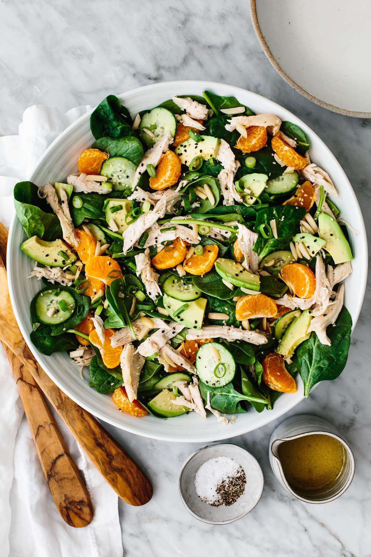 Mandarin Chicken Salad   Downshiftology