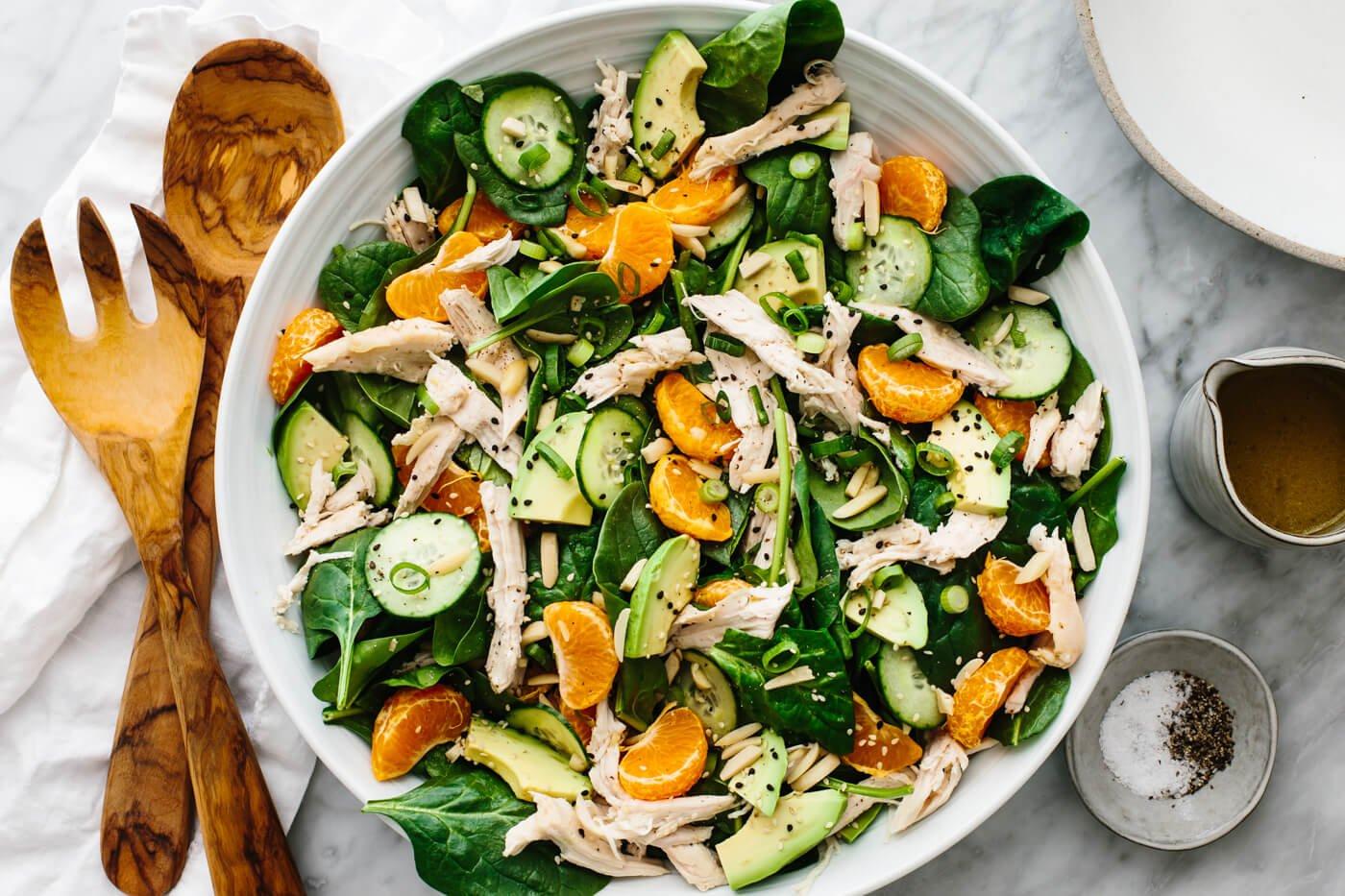 Mandarin Chicken Salad with Lemon Vinaigrette