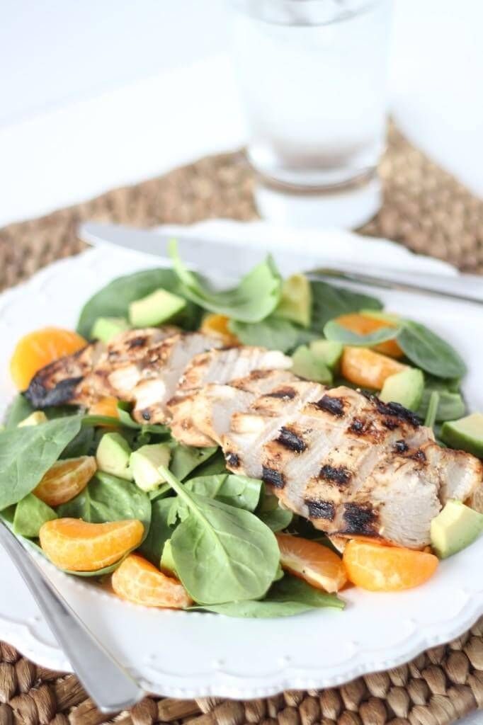 Mandarin and Chicken Salad | www.downshiftology.com