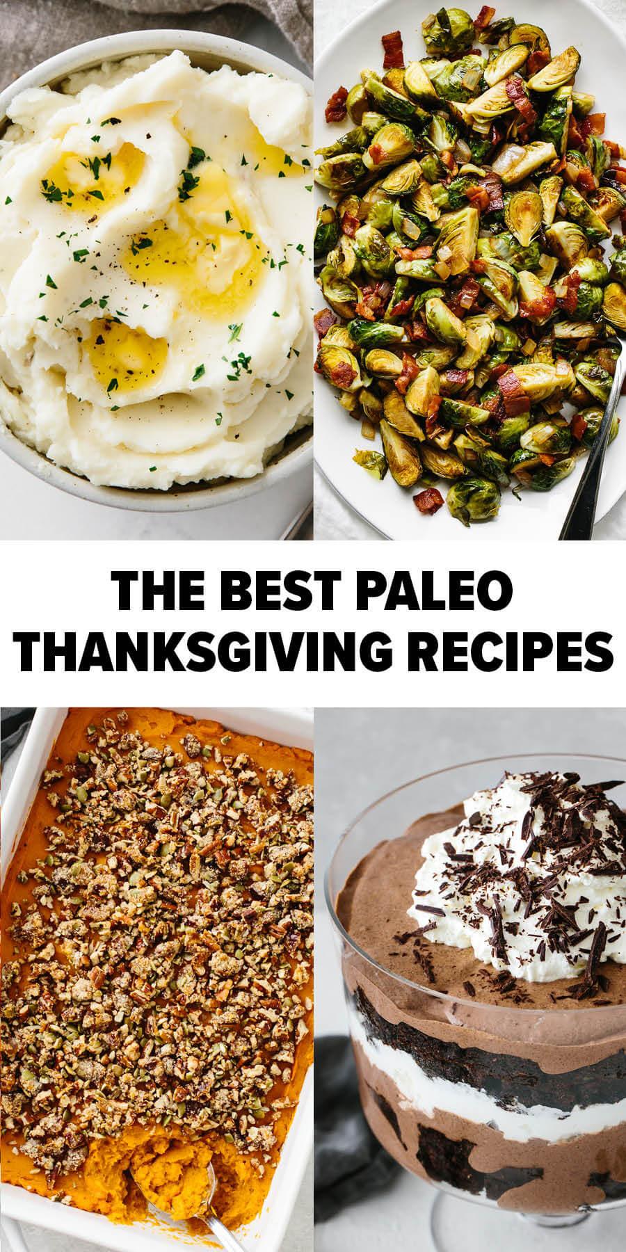 Best paleo thanksgiving recipes roundup
