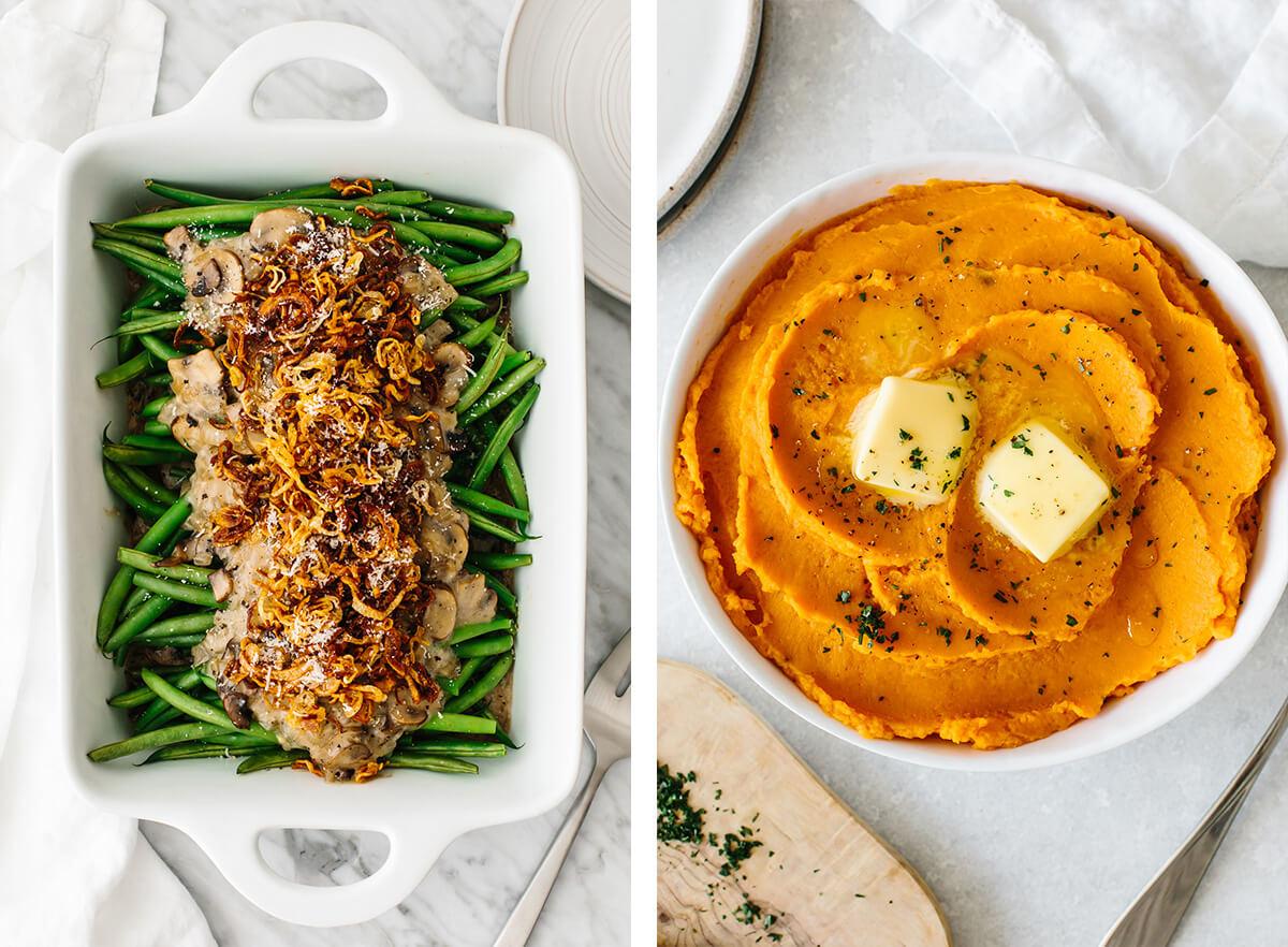 Paleo Thanksgiving side dish recipes.