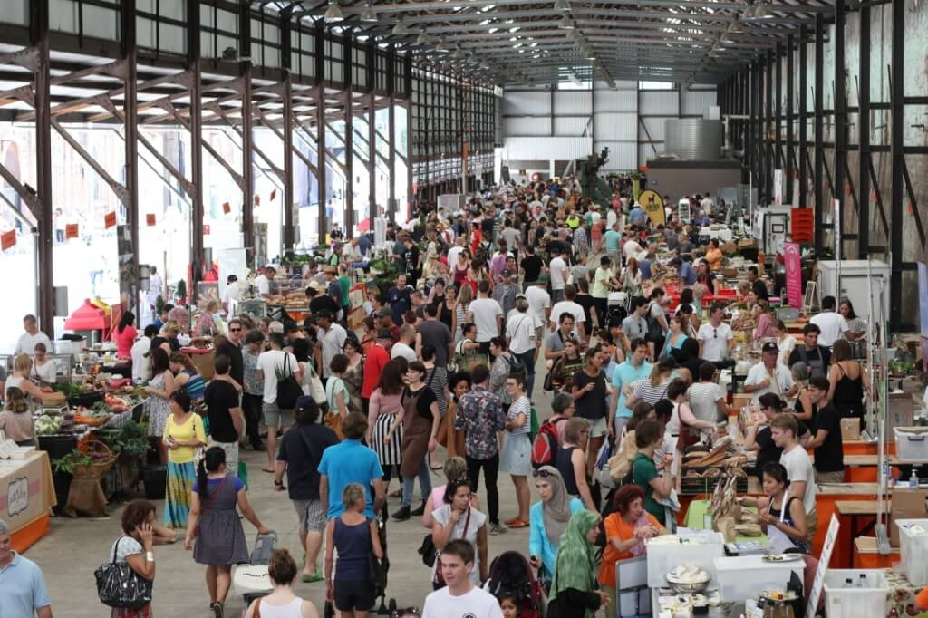 eveleigh - best farmer's markets in Sydney