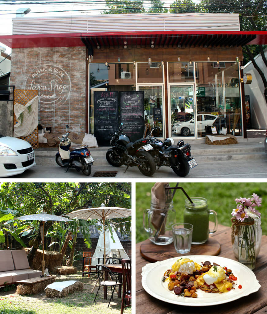 Rustic & Blue Cafe, Chiang Mai