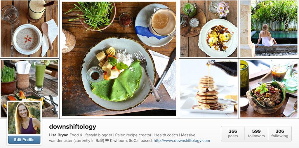 downshiftology instagram