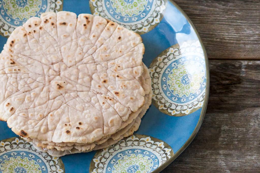 cassava flour tortillas
