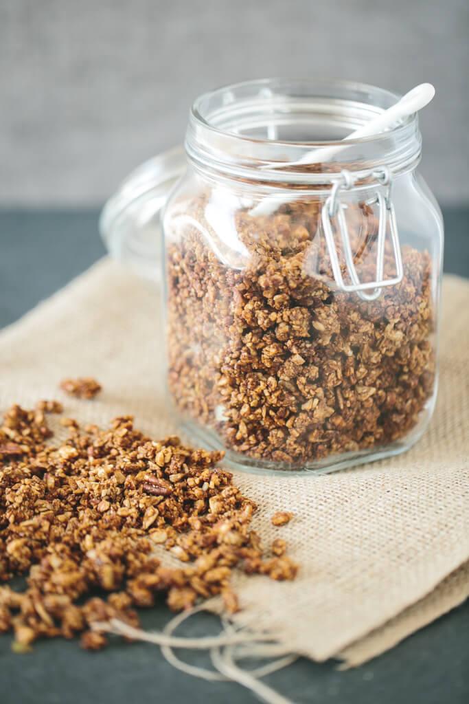 (gluten-free, grain-free) Chai Spiced Granola