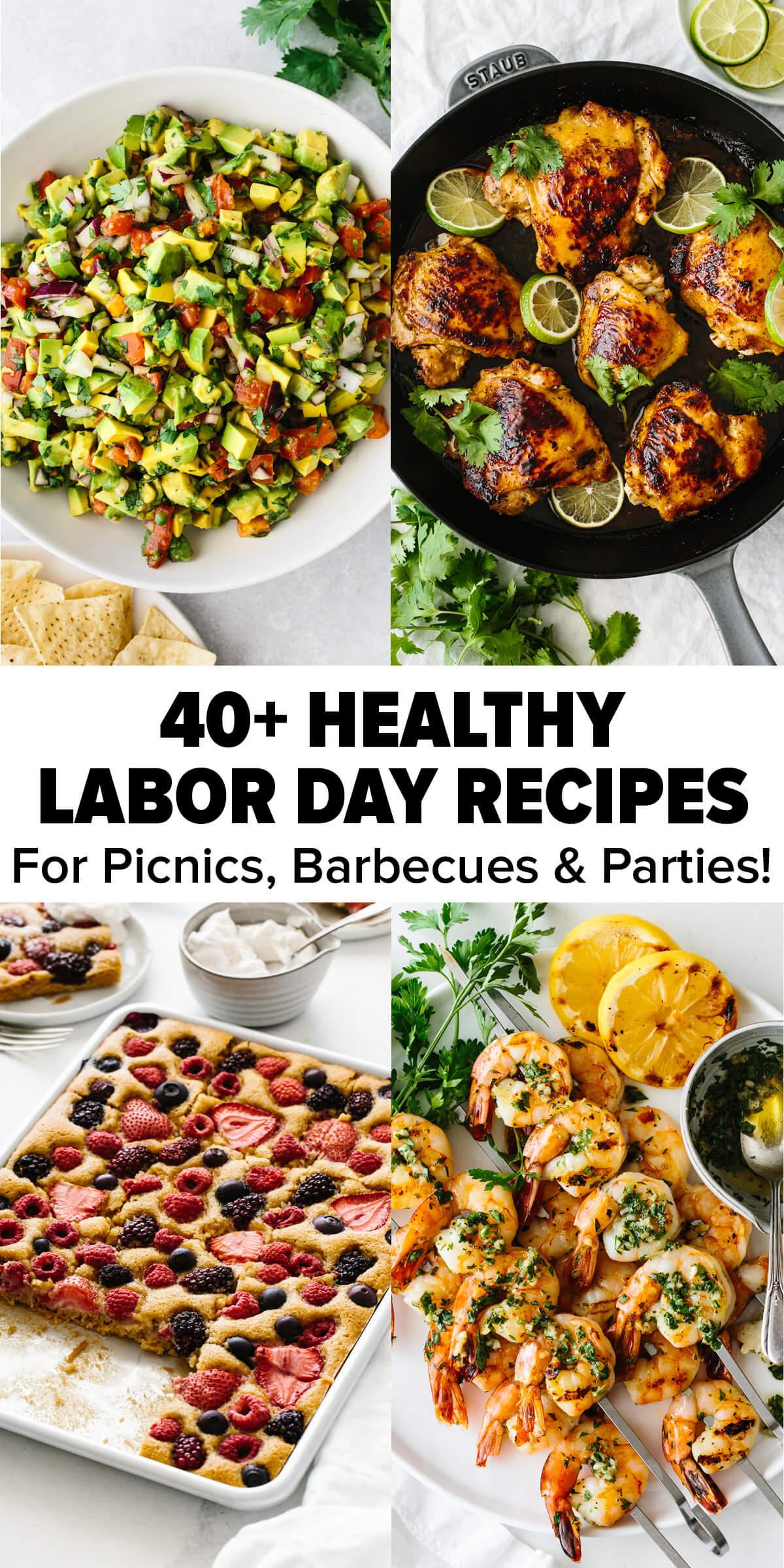 10+ Healthy Labor Day Recipes  Downshiftology