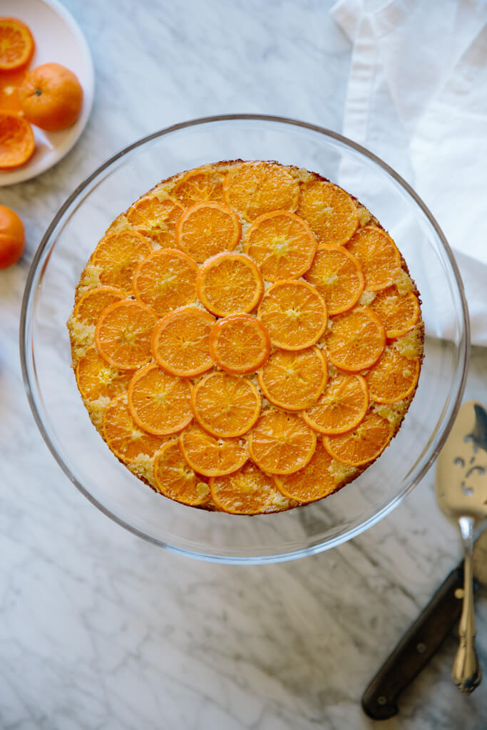 clementine upside down cake-5
