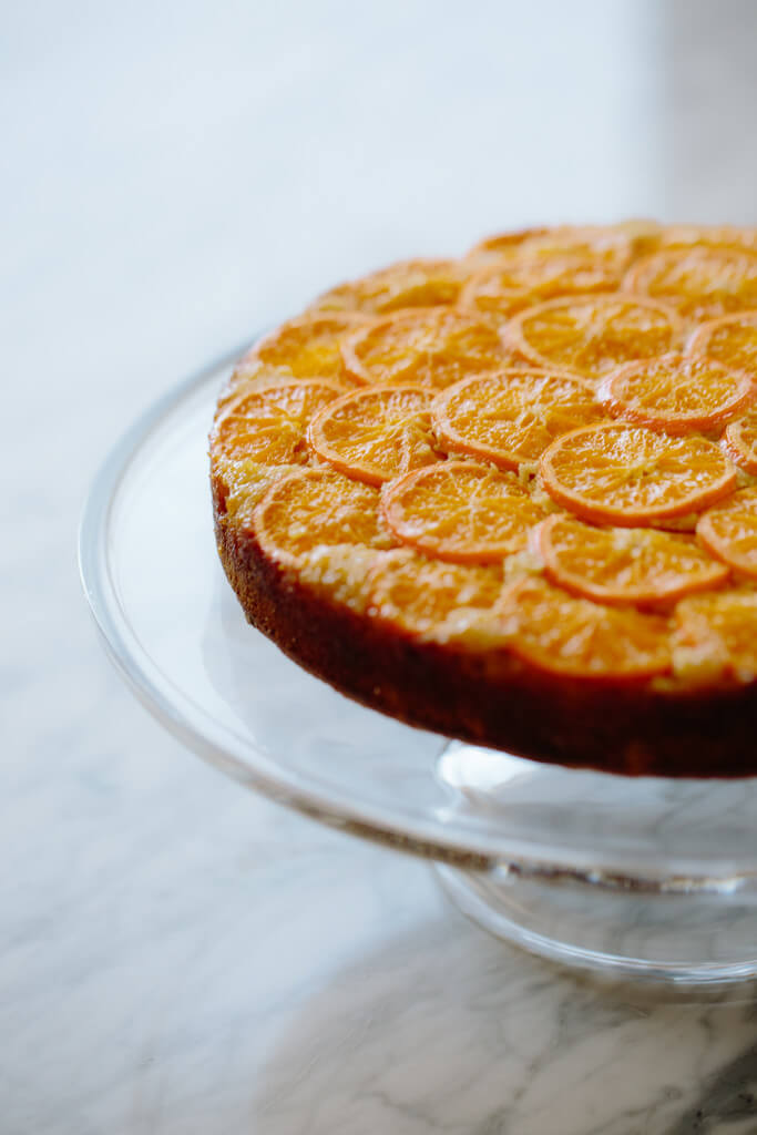 clementine upside down cake-8