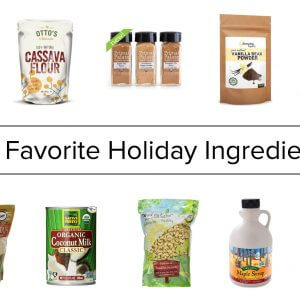 my favorite holiday ingredients