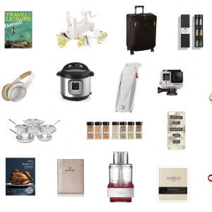 My 2015 holiday gift guide for the foodie and wanderlust traveler in your life!