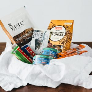 """5 snacks for healthy, gluten-free travel. These items are my """"go to"""" gluten-free travel snacks.   www.downshiftology.com"""