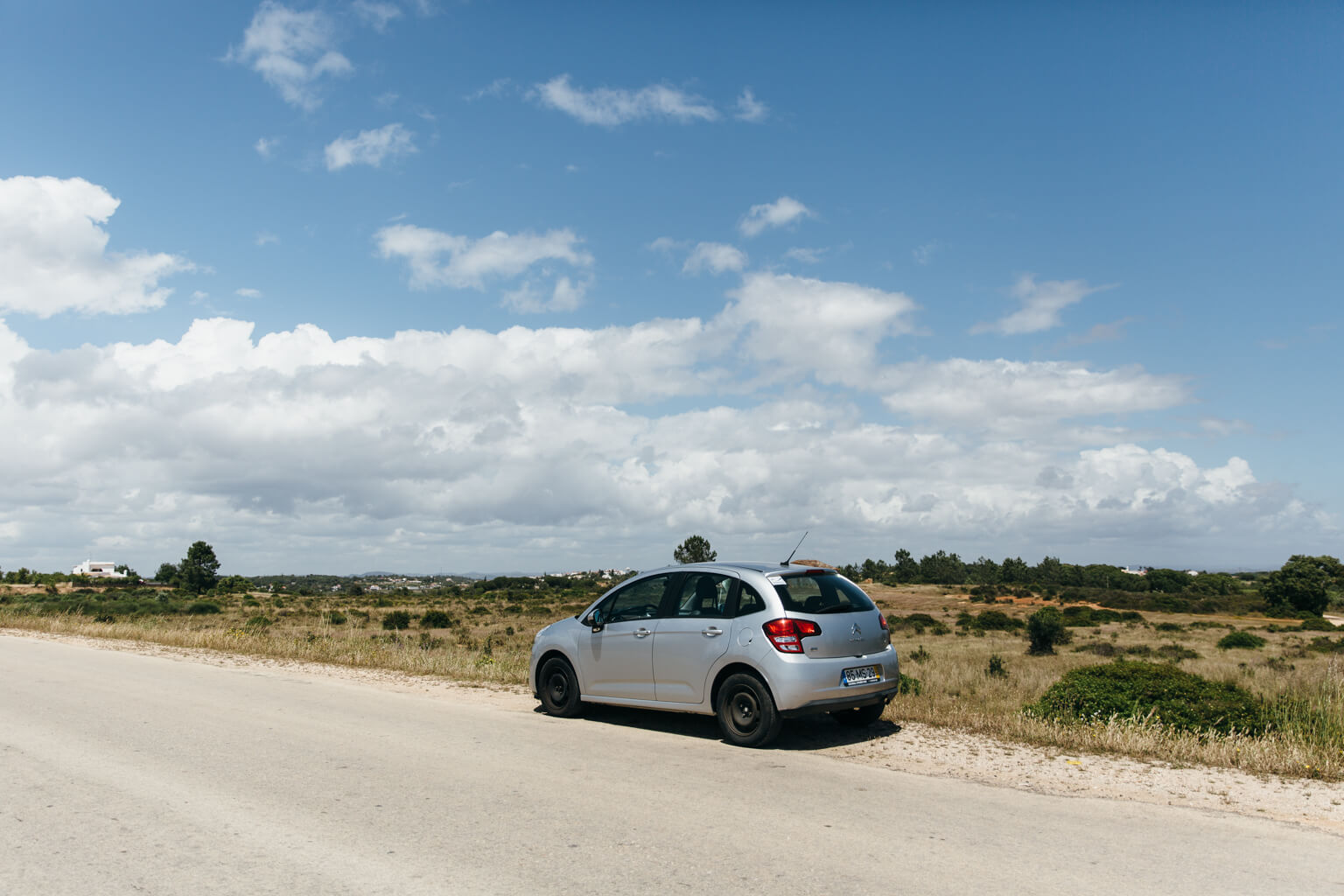 Driving in Algarve, Portugal