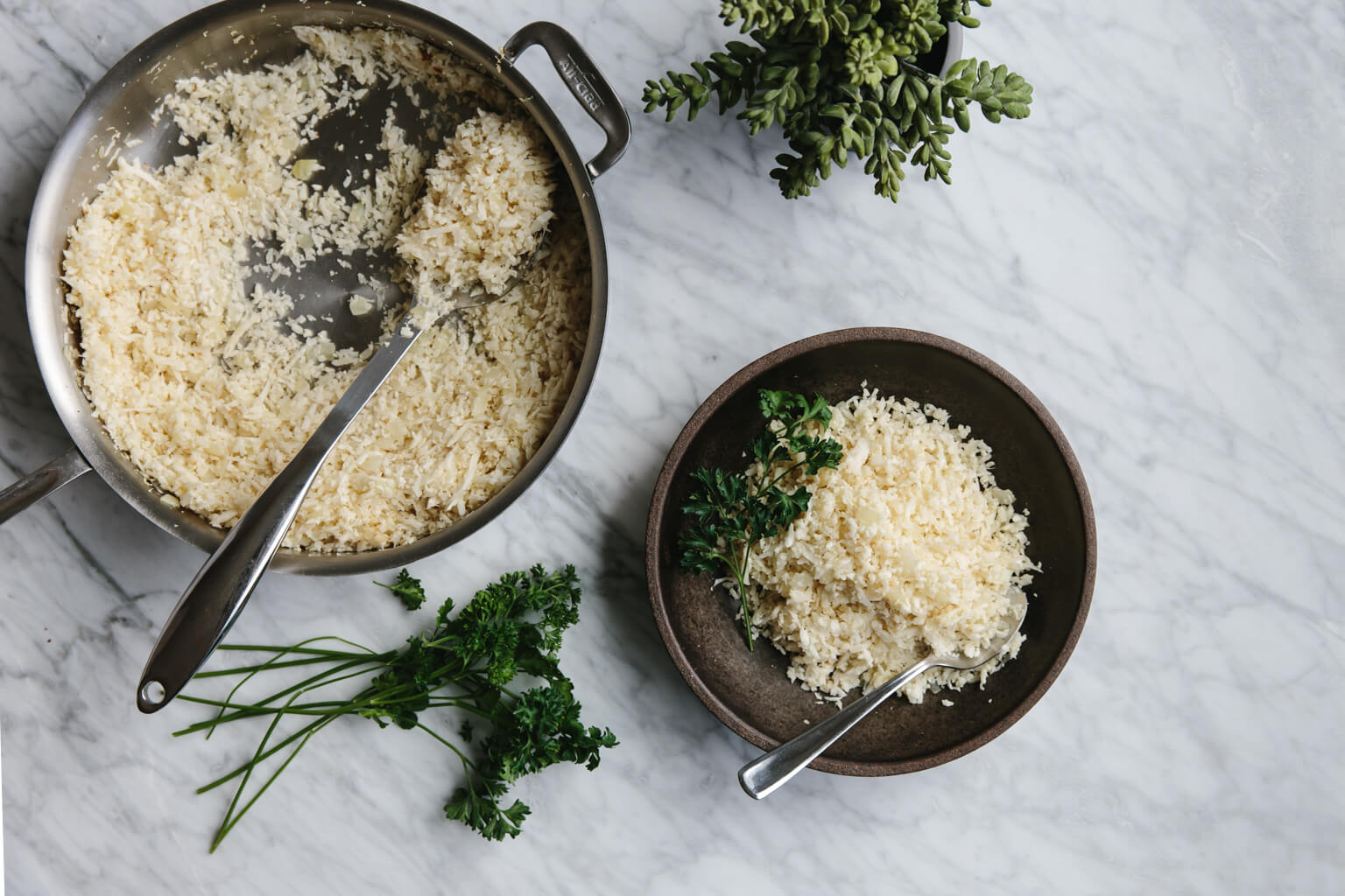Cauliflower rice is a wonderful low-carb, grain-free, paleo-friendly rice alternative. Learn how to make cauliflower rice at home.