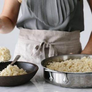 How to Make Cauliflower Rice // Cauliflower rice is a wonderful low-carb, grain-free, paleo-friendly rice alternative. Watch the video to see just how simple and easy it is to make.
