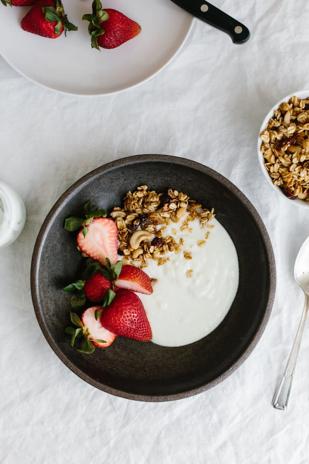 Homemade yogurt is easy to make and I'll walk you through the process step-by-step (with a video). This is a fail-safe way to make yogurt at home - promise!