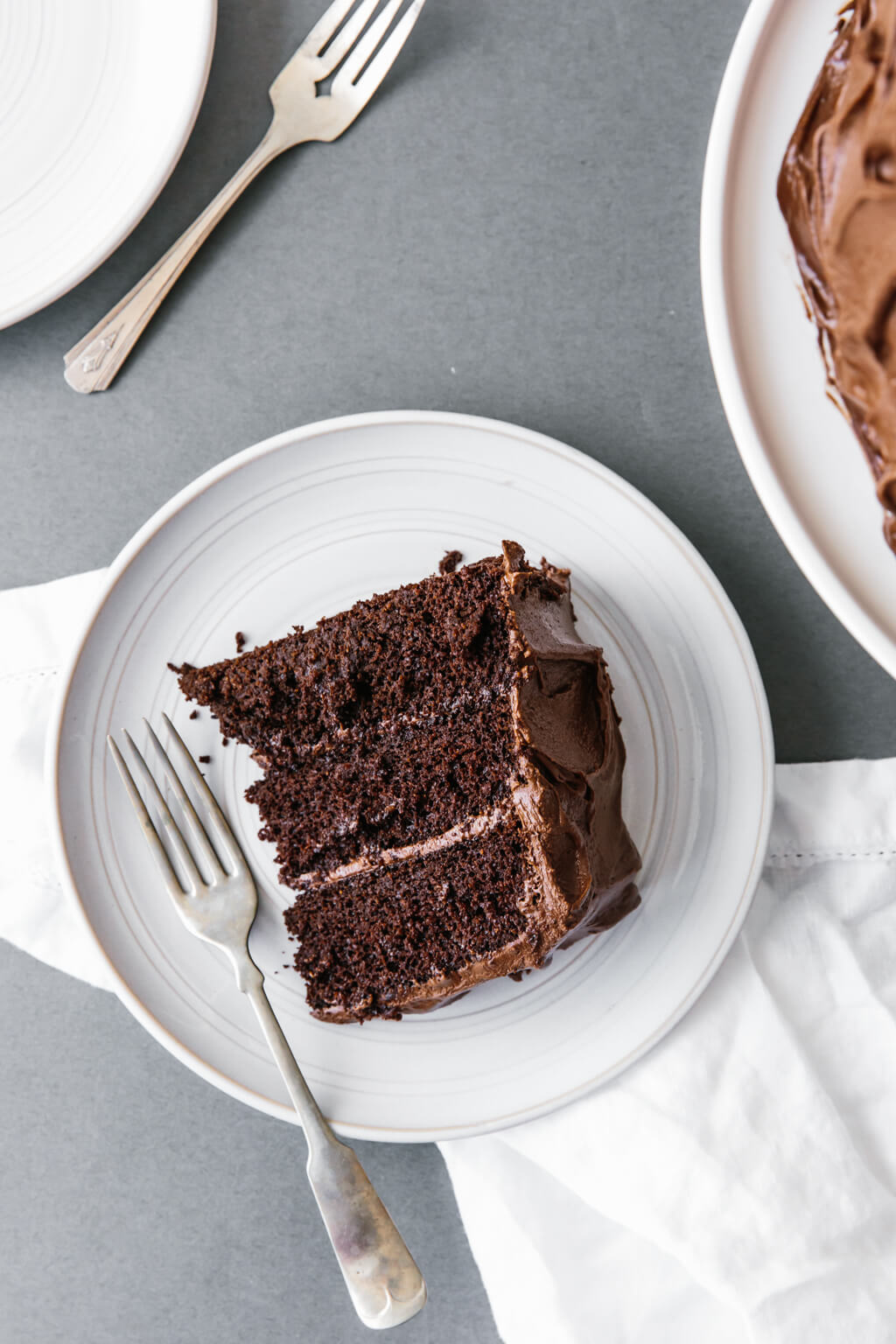 (gluten-free, grain-free, dairy-free) This paleo chocolate cake recipe is unbelievably rich, decadent and moist. It's the perfect chocolate birthday cake.