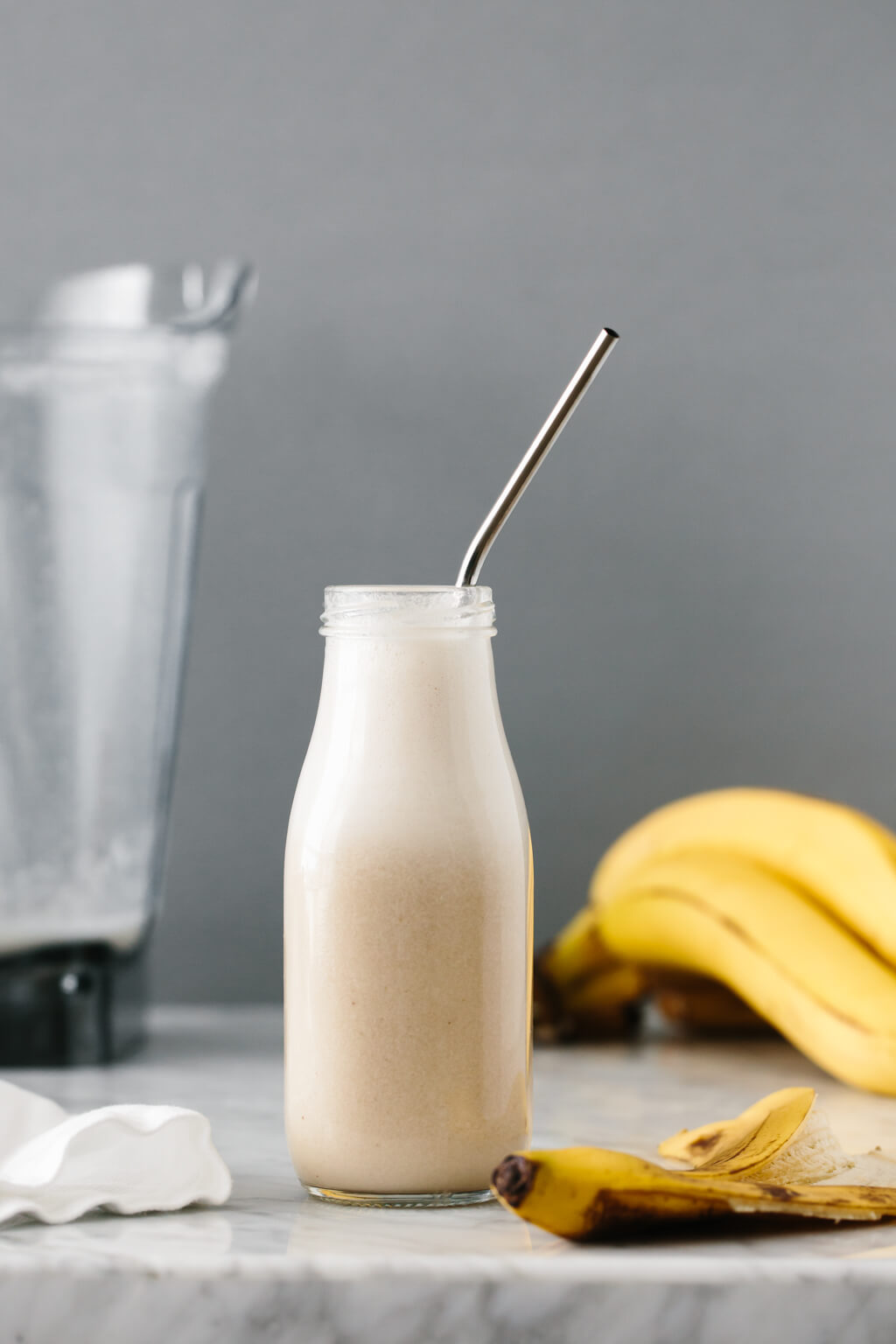 Banana Milk Vegan Dairy Free Downshiftology
