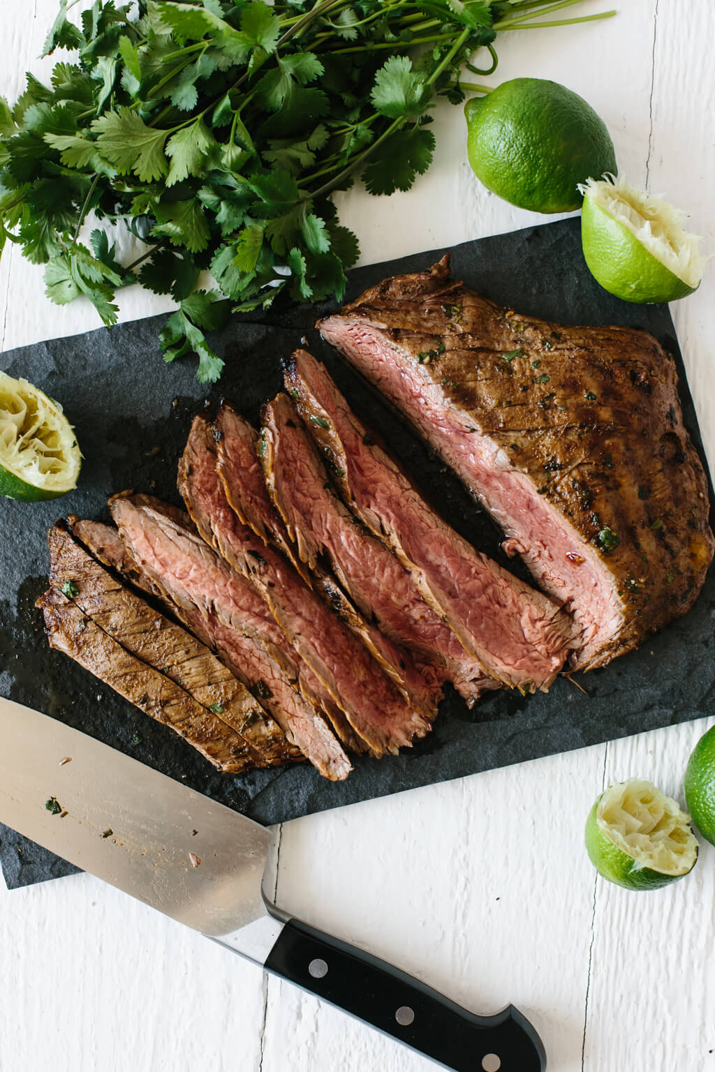 An easy, delicious and flavorful carne asada recipe. When it comes to authentic carne asada you'd find in Mexico, this comes pretty darn close!