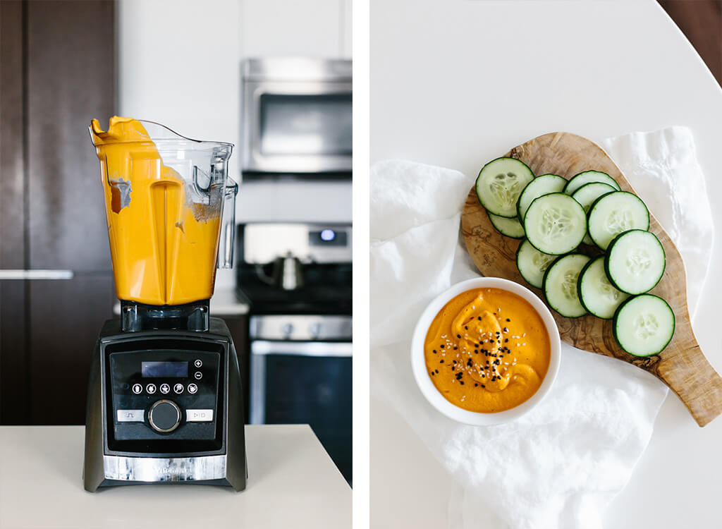 See all of the healthy recipes I eat in a day, with the help of my Vitamix blender.