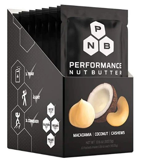 Best Whole30 Snacks: Performance Nut Butter