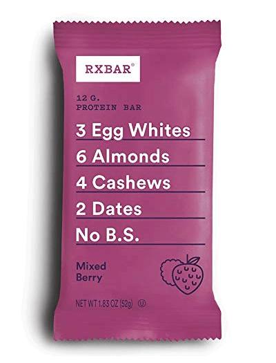 Whole30 Snacks: RX Bar