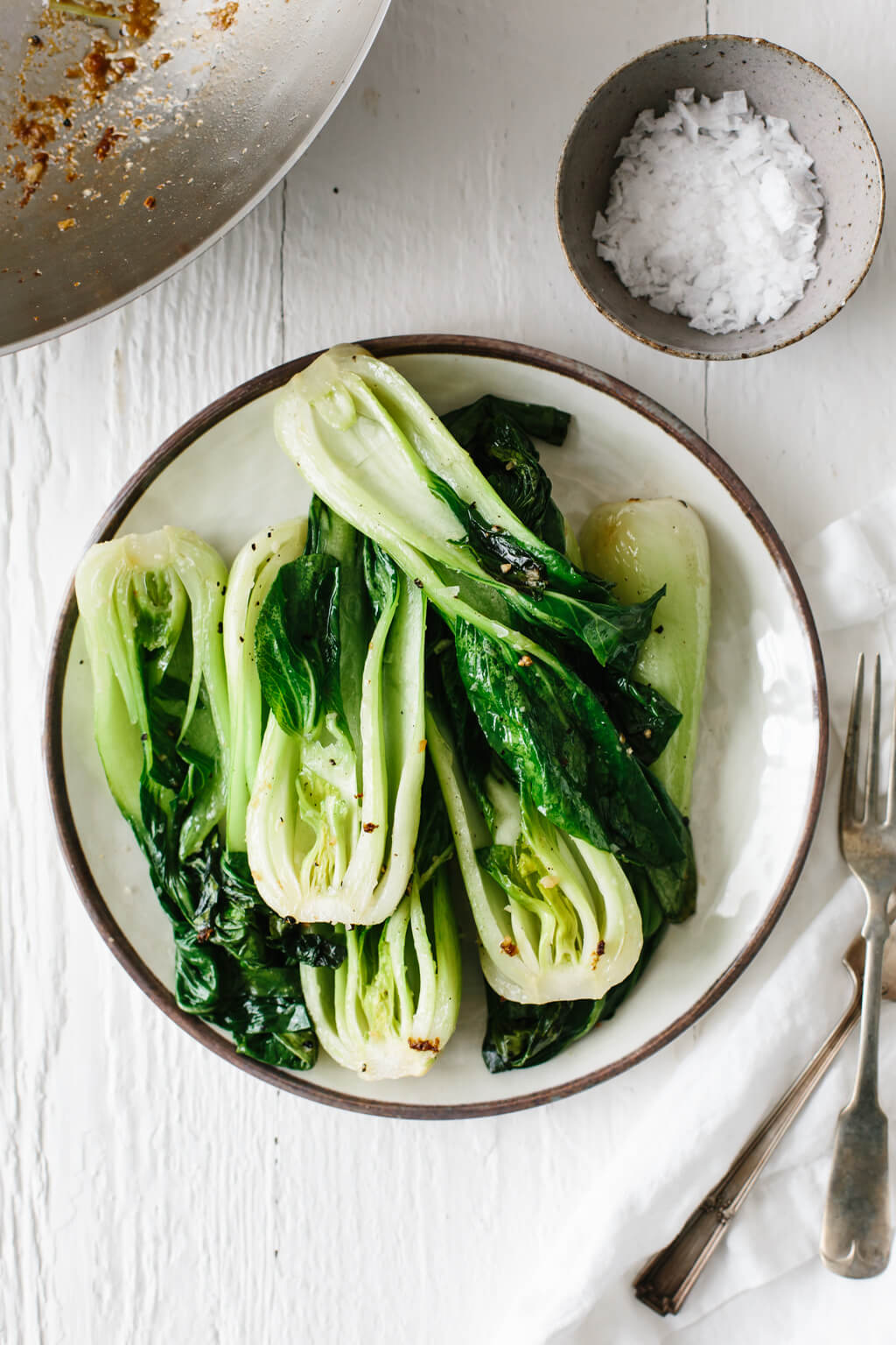 The Best Bok Choy Recipe Garlic Ginger Downshiftology