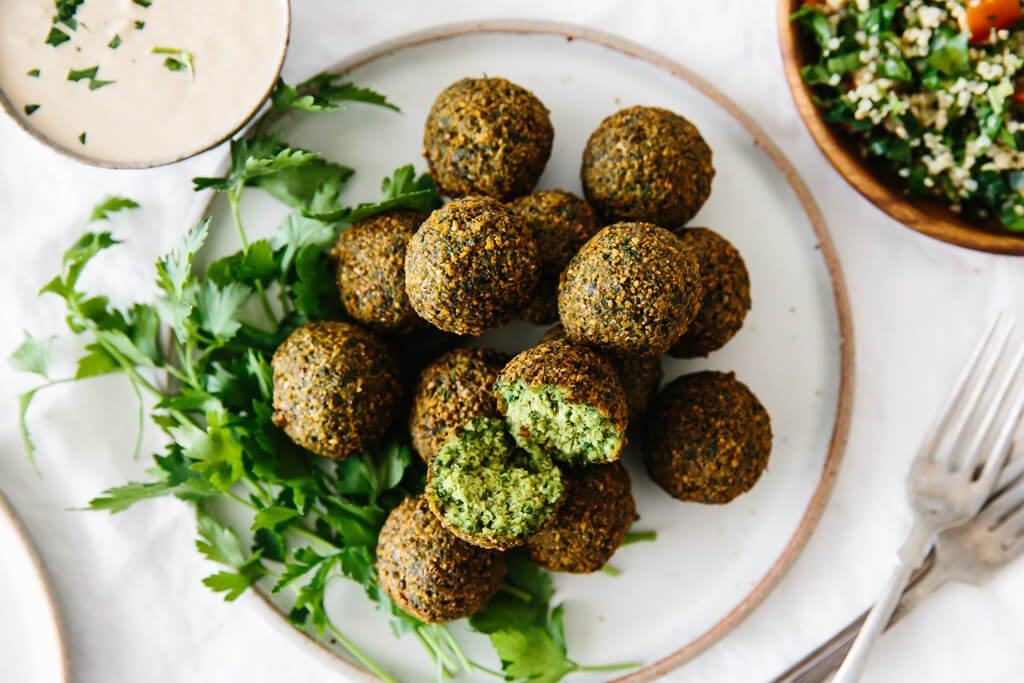 Most Delicious Falafel Recipe (Fried or Baked) | Downshiftology