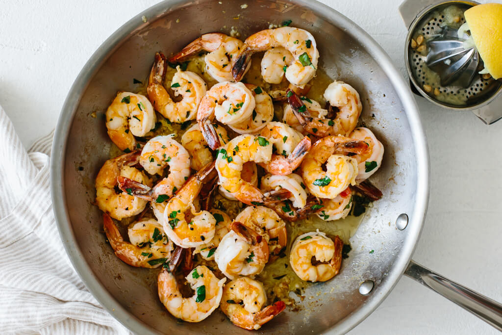 Garlic Butter Shrimp In 10 Minutes Downshiftology,Thin Chicken Breast Recipes Healthy