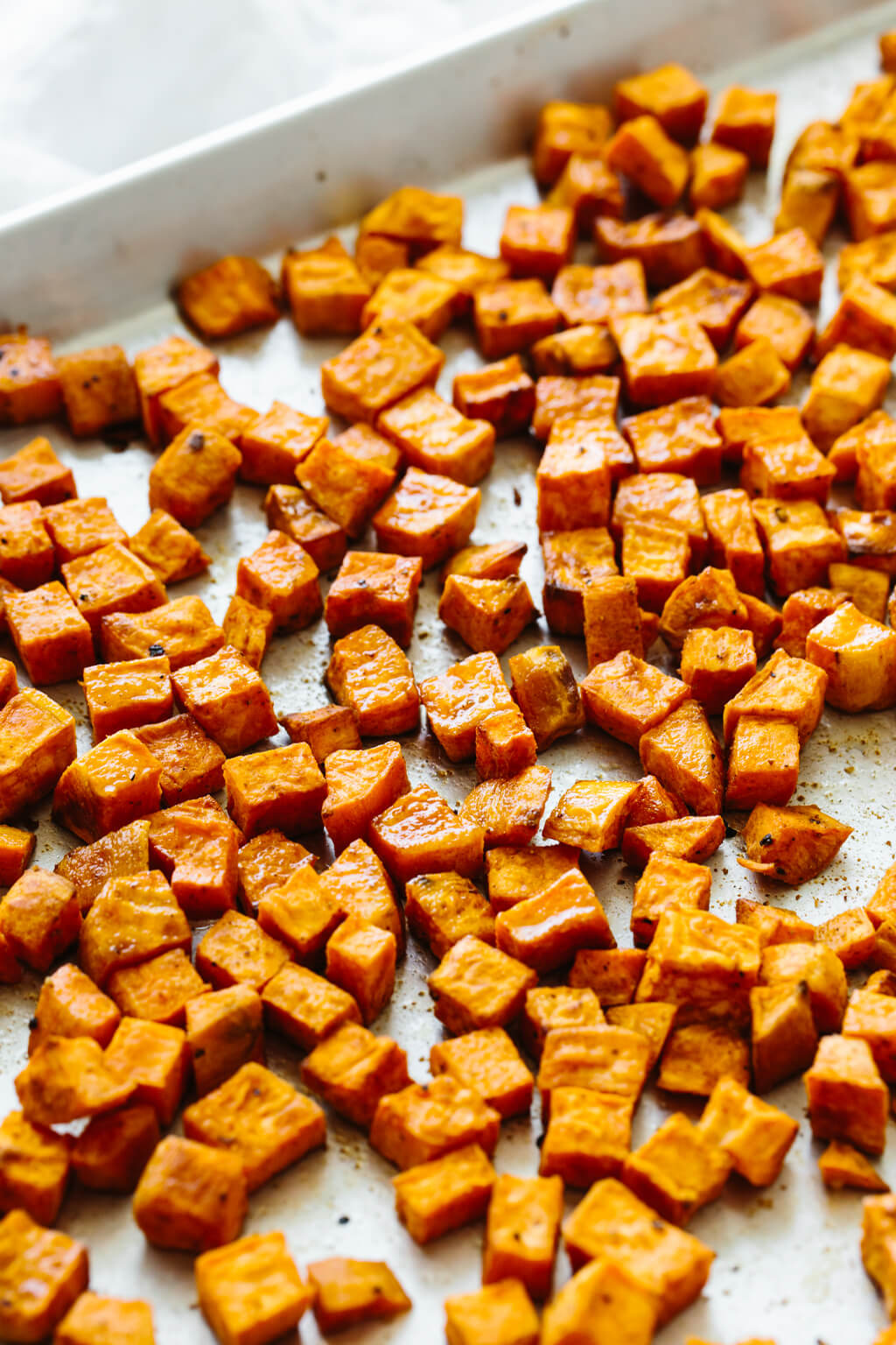 Roasted Sweet Potatoes Perfectly Seasoned Downshiftology