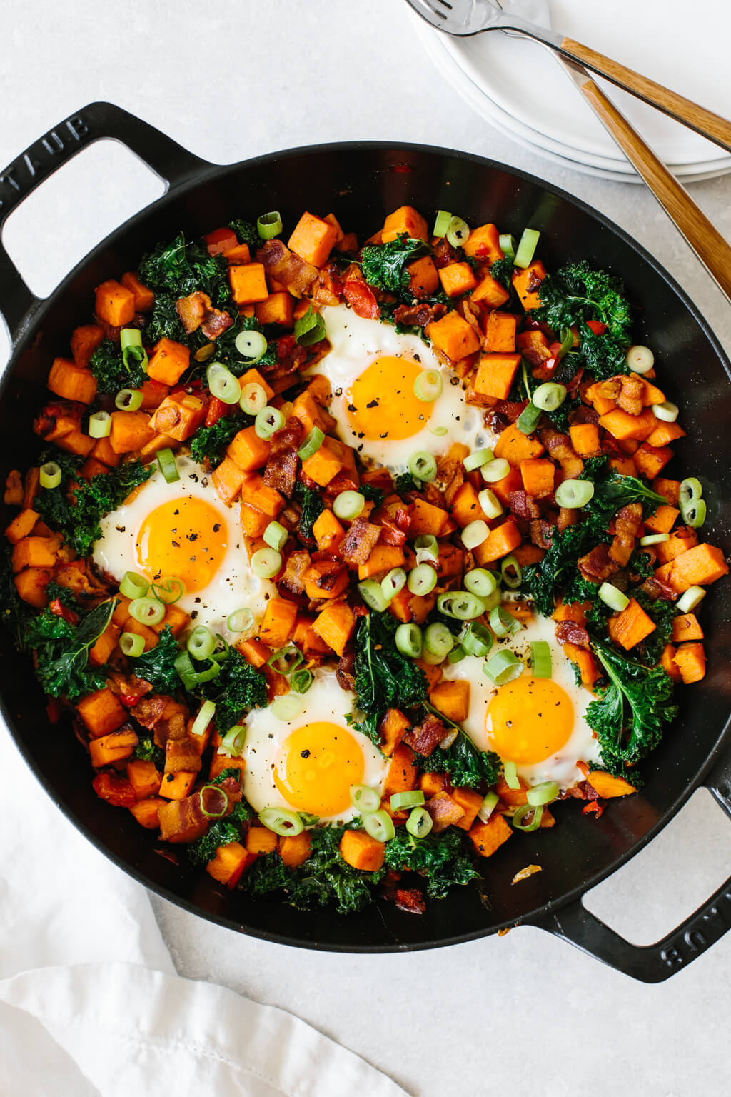 Sweet Potato Breakfast Hash Downshiftology