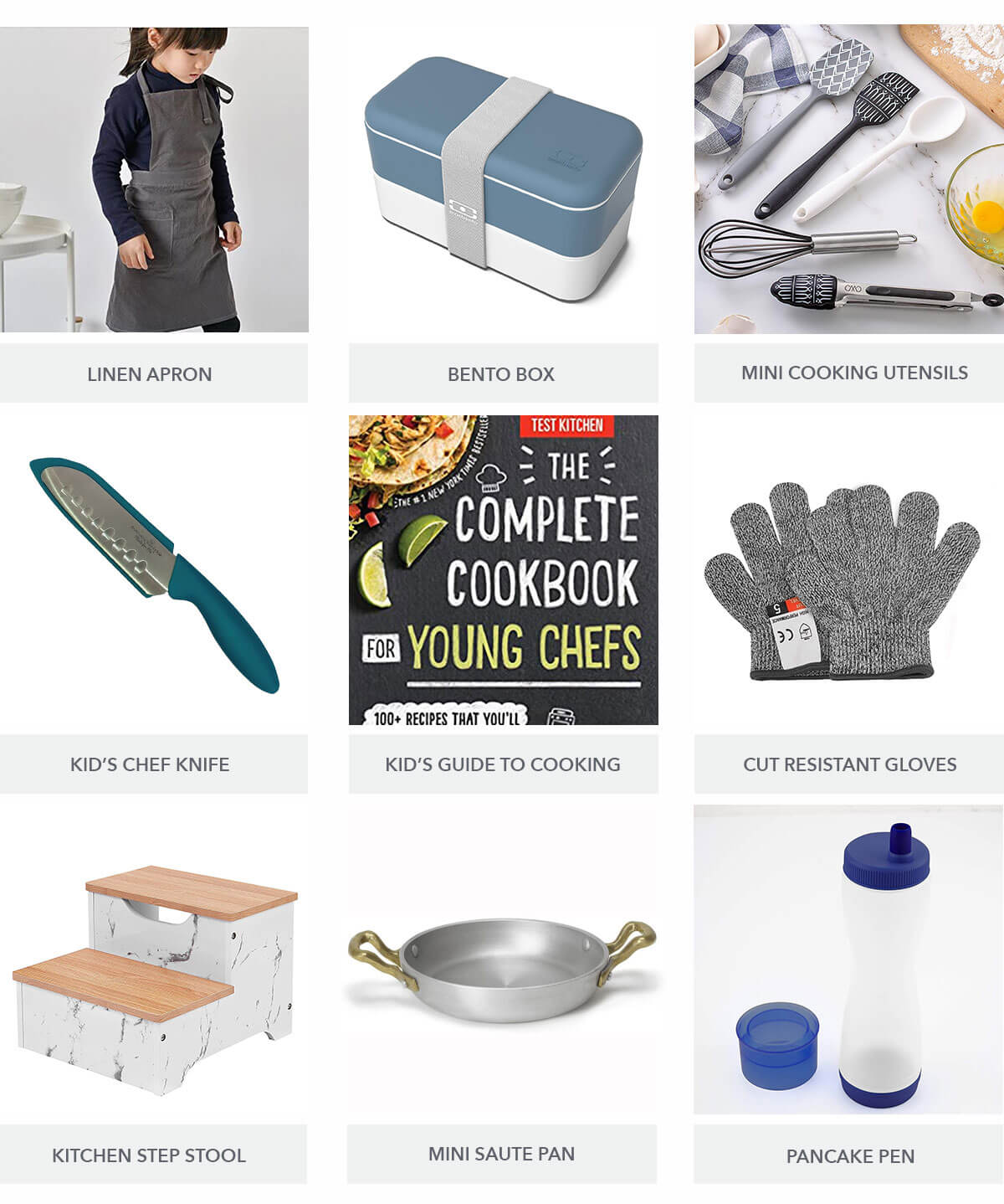 Little Kitchen Helpers Gift Guide