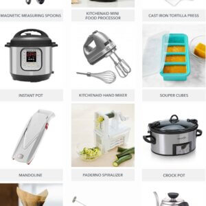 Holiday gifts for the kitchen gadget obsessed.
