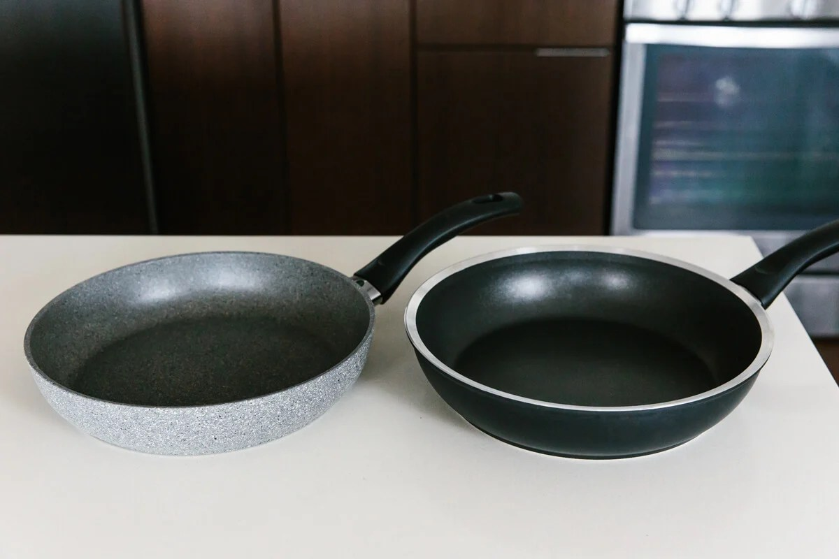 Different non-stick cookware.