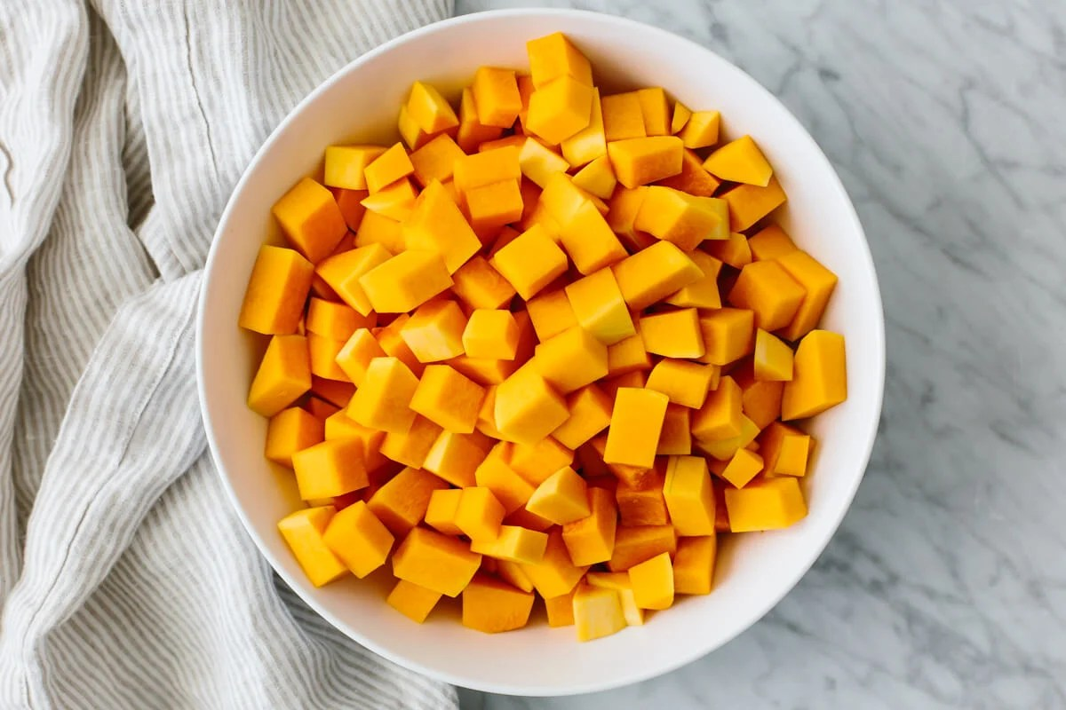 How To Peel And Cut Butternut Squash Easily Downshiftology
