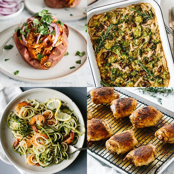 30 Easy Whole30 Dinner Recipes Downshiftology