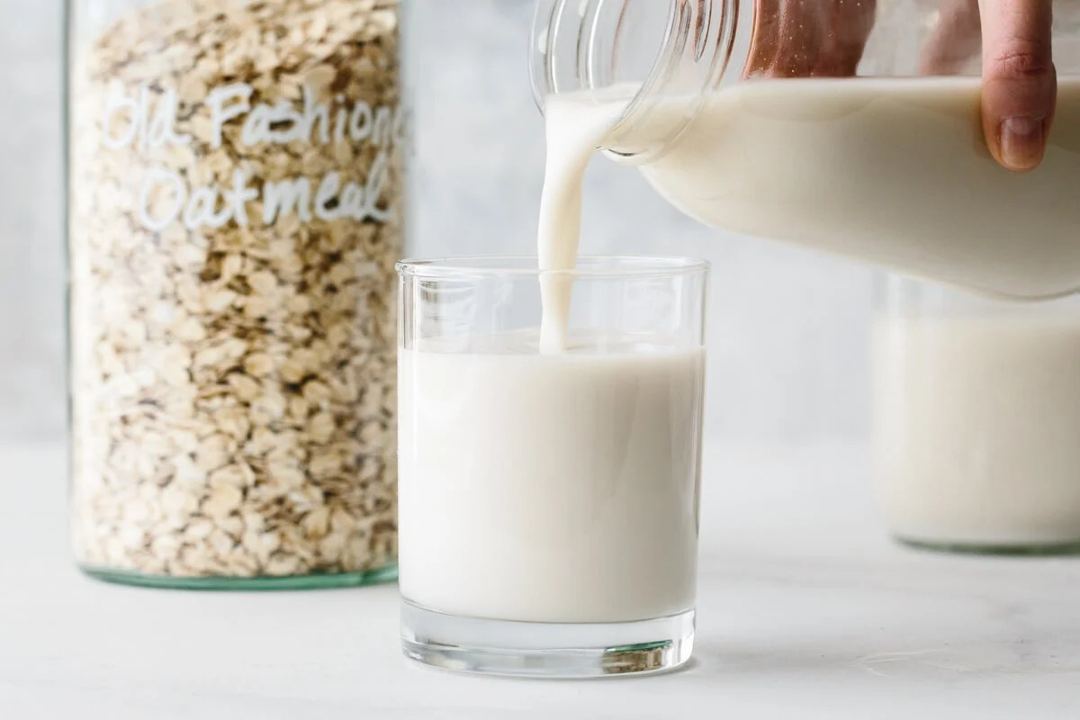 How To Make Oat Milk Non Slimy Secret Tip Downshiftology