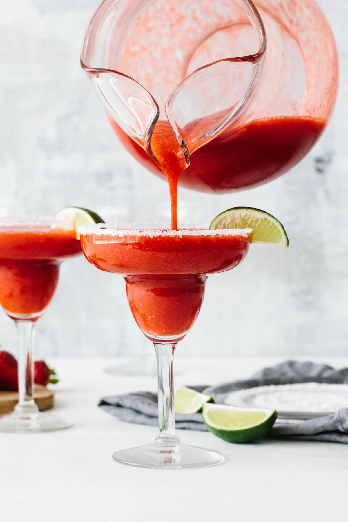 Easy Strawberry Margarita Recipe Downshiftology